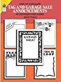 Easy-To-Duplicate Tag and Garage Sale Announcements (Quick Copy Art)