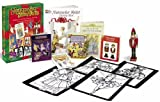 Nutcracker Holiday Fun Kit with Sticker and Crayons and Tattoos and Stencils