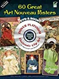 60 Great Art Nouveau Posters Platinum DVD and Book (Electronic Clip Art)