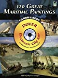 120 Great Maritime Paintings CD-ROM and Book (Platinum DVD & Book)