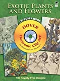 Exotic Plants and Flowers CD-ROM and Book