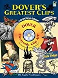 Dover's Greatest Clips CD-ROM and Book
