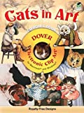Cats in Art CD-ROM and Book (Dover Electronic Clip Art)