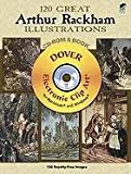 120 Great Arthur Rackham Illustrations CD-ROM and Book (Dover Electronic Clip Art)