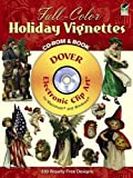 Full-Color Holiday Vignettes (Dover Full-Color Electronic Design)
