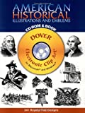 American Historical Illustrations and Emblems (Black-And-White Electronic Design)