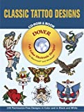 Classic Tatoo Designs (Dover Full-Color Electronic Design)