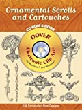 Ornamental Scrolls And Cartouches (Dover Electronic Clip Art)