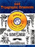 600 Typographic Ornaments (Dover Electronic Clip Art)