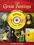 120 Great Paintings (Dover Full-Color Electronic Design)
