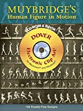 Muybridge's Human Figure in Motion (Electronic Clip Art)