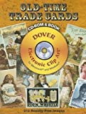 Old-Time Trade Cards (Full-Color Electronic Design Series)