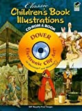 Classic Children's Book Illustrations (CD Rom & Book)