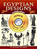 Egyptian Designs (Dover Electronic Clip Art)