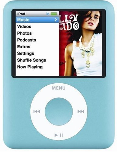 Apple iPod nano 8GB ブルー