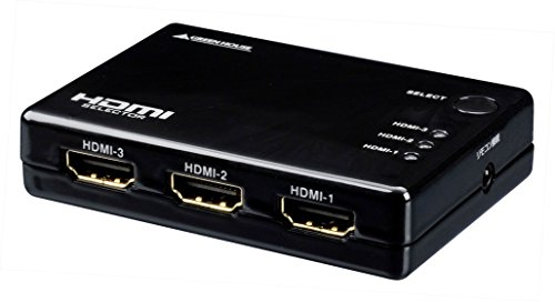GREEN HOUSE HDMIセレクタ Input3+Output1ポート GH-HSW301