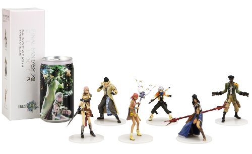 FINAL FANTASY XIII ELIXIR with TRADING ARTS MINI 化粧箱×6箱セット(エリクサー6缶(デザイン1種類)+フィギュア全6種類)