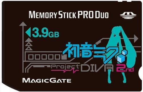 初音ミク -Project DIVA- 2nd Memory Stick PRO Duo