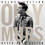 Album «Never Been Better»by Olly Murs